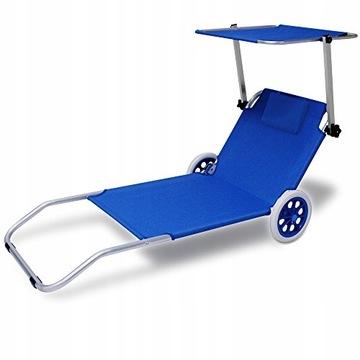 Купить Шезлонг на колесах с навесом на пляжной пляжной тележке на Otpravka - цены и фото - доставка из Польши и стран Европы в Украину.