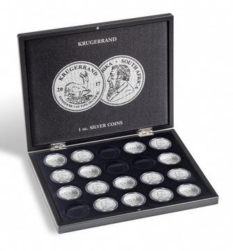 Футляр для серебряных монет - 20 х крюгеррандов