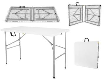 Складной садовый обеденный стол 122 см на 6 человек