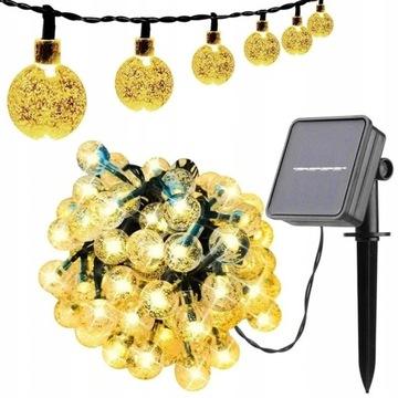 Солнечная лампа для сада Лампа 100 LED 12 M