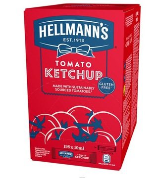 Кетчуп Hellmann's в пакетиках 198 пакетиков FV