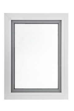 Москитная сетка на окно, противомоскитная сетка в рамке, размер