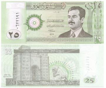ИРАК 25 динаров 2001 P86 (2) UNC