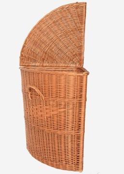 Купить Угловая плетеная корзина очень БОЛЬШАЯ НОВИНКА на Otpravka - цены и фото - доставка из Польши и стран Европы в Украину.