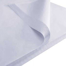 Гладкая папиросная бумага SilkPaper 50x70см белая 50 шт.