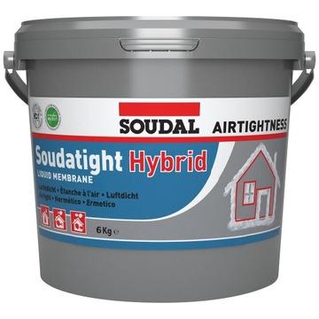 Жидкая мембрана SOUDAL SWS SOUDATIGHT HYBRID 6 кг