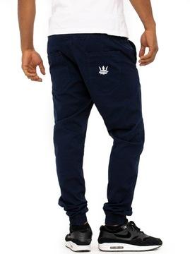 Spodnie Jogger Jigga Wear super jakość granatowe M