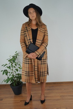 Płaszcz trencz jesień 2021
