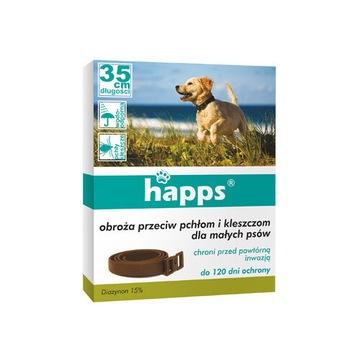 HAPPS COLLAR AGAINST против блох и клещей для собак