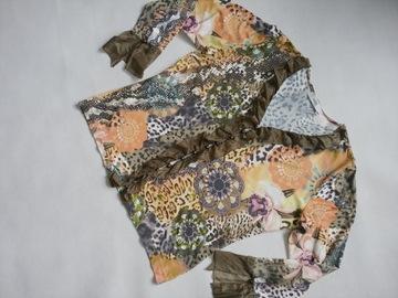 next ti bluzka jedwabna falbana Biba by Escaada 46