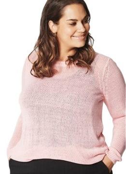Sweter roz 46 w Swetry damskie Allegro.pl