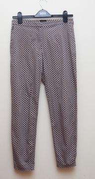 Wzorzyste spodnie Reserved casual 36