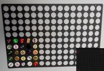 Прямоугольная крышка от бутылки 34x52см 150 отверстий