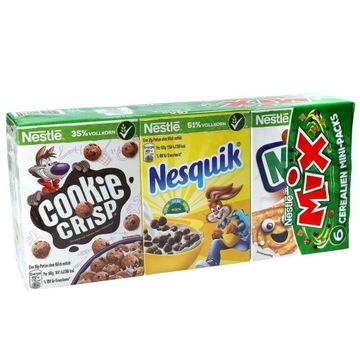 Сухие завтраки Nestle Mix 6 упаковок из Германии