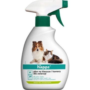 Жидкость Happs от клещей и комаров для животных 200мл