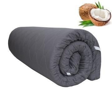 Наматрасник кокосовый, мат 140x200, ГРАФИТ