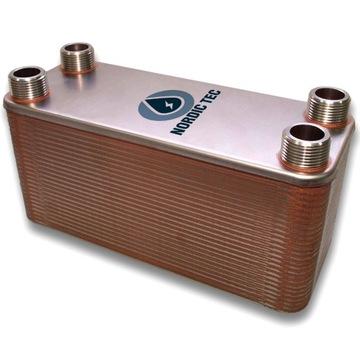 Теплообменник NORDIC Tec 40kW 32-пластинчатый 1 ''