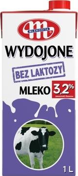Молоко ультрапастеризованное Mlekovita Milk без лактозы 3,2% 1л