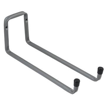 Крюк гаражный складной двойной 300x120мм, сталь
