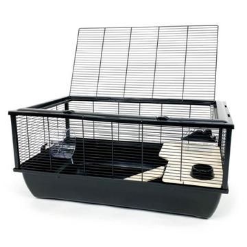 Клетка для хомяков и мелких грызунов - BOB черный