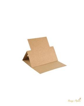 Подставка под мольберт квадратная - крафт, 5 шт.