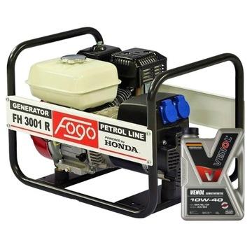 ГЕНЕРАТОРНЫЙ КОМПЛЕКТ FH3001R AVR 230V HONDA + OIL