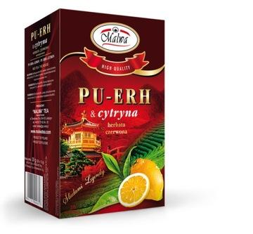 Red Mallow Pu Erh с лимоном 20 пакетиков