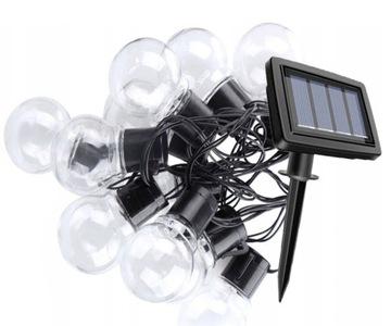 Солнечная гирлянда LED садовые фонари солнечные шары