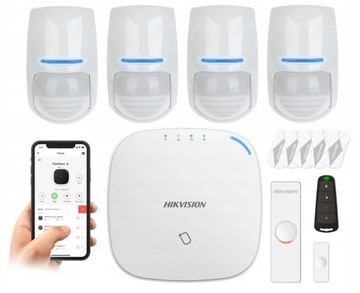 Hikvision WiFi GPRS WIRELESS ALARM APKA пульт дистанционного управления