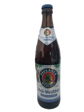 Безалкогольное пиво Paulaner Hefe-Weissbier
