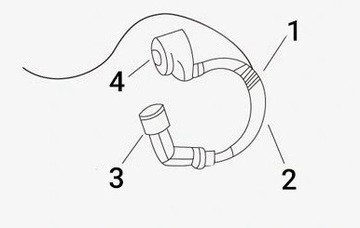 Спидометр моточасов czasu тахометр+ reset motor, фото 6