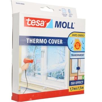 Оконная термофольга, прозрачная, простая в установке