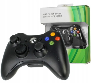KONTROLER PAD BEZPRZEWODOWY XBOX 360 DUALSHOCK