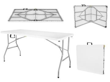 Складной обеденный столик для сада 152 см на 8 человек