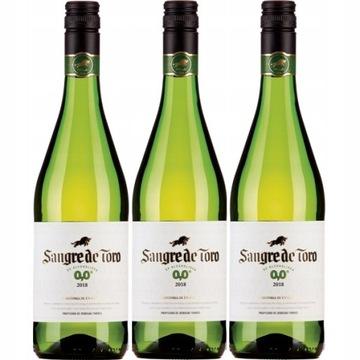 Вино Испания Сангре де Торо белое 0% сет 3win