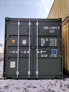 Морской контейнер для хранения 20 DV OneWay 6m RAL7016