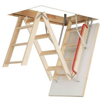WLAZ Чердачная лестница 70x120 футов + рейки FAKRO