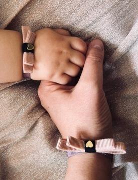 Красивые браслеты для мамочки с сердечком