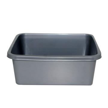 Прямоугольная серебряная чаша 11л Раковина для ванной