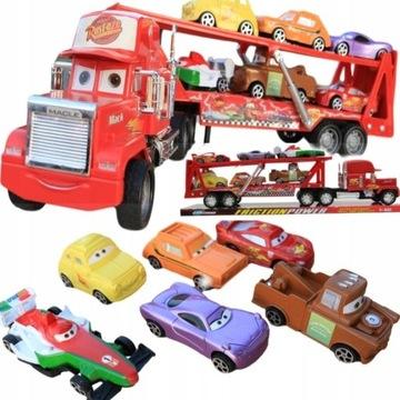 ГРУЗОВИК LAWETA DRIVE 50 см + 6 игрушек TOBBI-XXL
