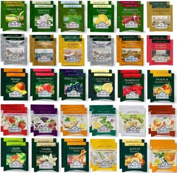 Чайный сервиз Ahmad Tea из 5 пакетиков в любимом вкусе