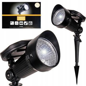 Солнечный светильник садовый светодиодный прожектор STRONG SENSOR