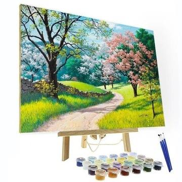 ЖИВОПИСЬ ПО НОМЕРАМ - Цветочный сезон