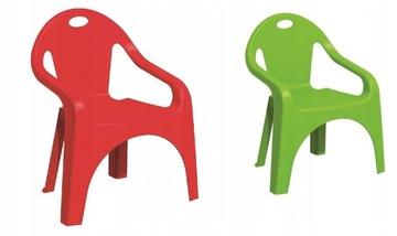Пластиковый детский стульчик.
