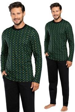 Piżama męska OZZY XL długi rękaw ITALIAN FASHION