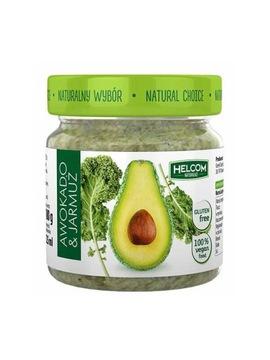 Паста из авокадо и капусты 190 г - HELCOM