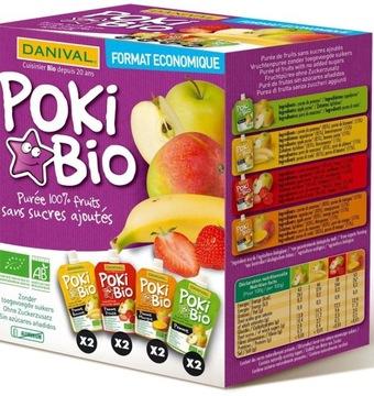 Poki - фруктовое пюре 100% фруктовый микс без каких-либо добавок