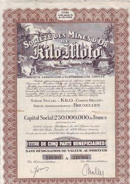 Кило-Мото, золотодобытчики