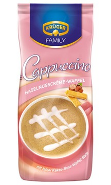 Kruger Cappuccino Haselnusscreme Waffel 500гр.