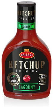 Кетчуп Roleski Premium Ketchup мягкий 465г